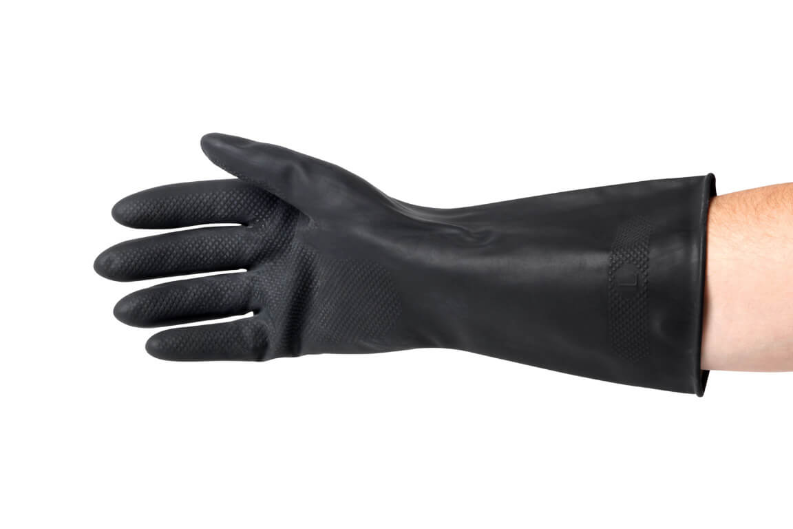 Jet Heavy Duty Rubber Gloves