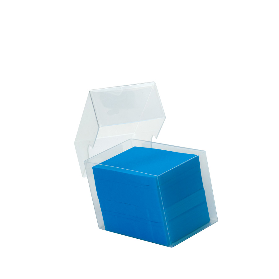 Deltaplast Deep 100 x 60 x 70mm Plastic Business Card Boxes - Extra Deep