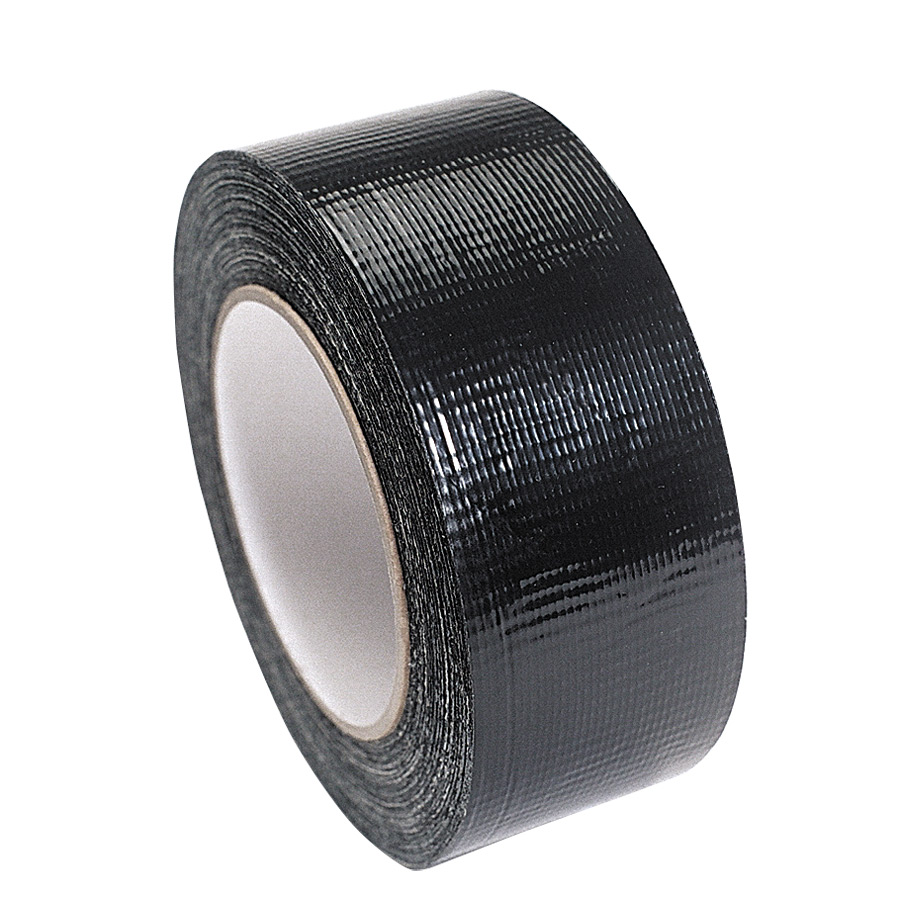 Black Trojan Cloth Tape 50mm x 50m
