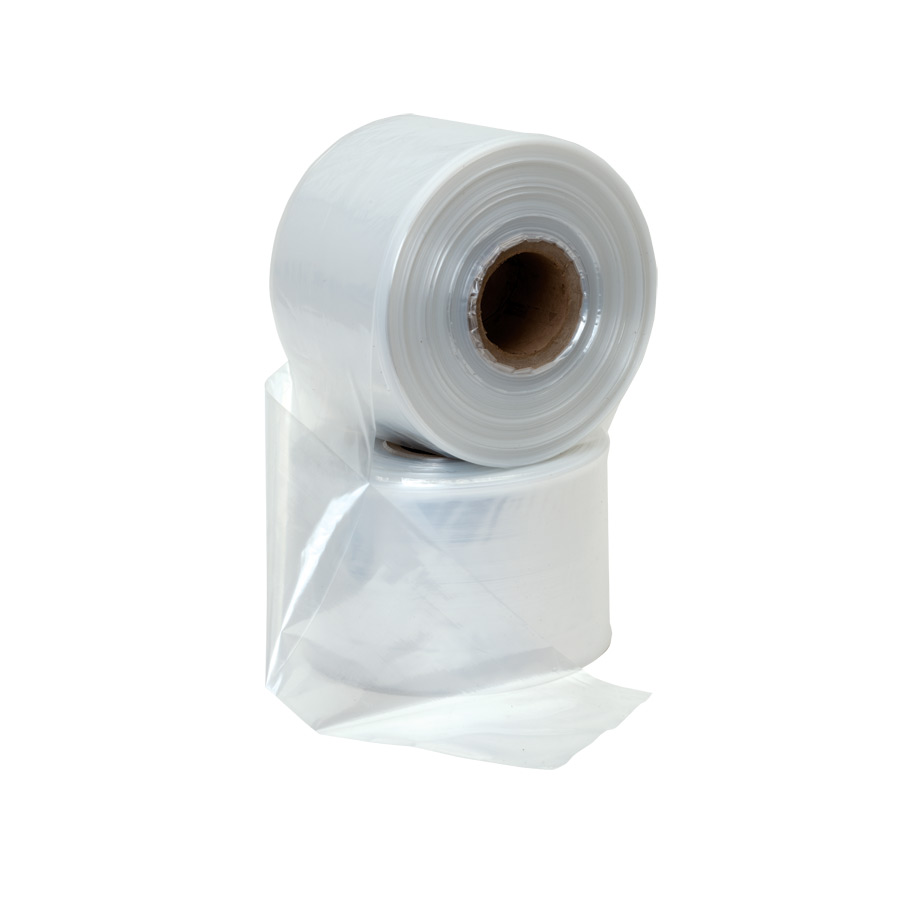 Polythene Lay Flat Tubing 100mm x 330m 62.5mic (250 gague) 4Kg
