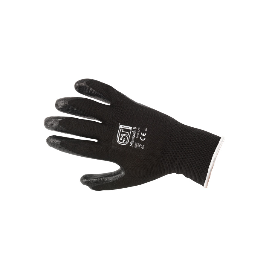 Nitrile Palm Dip Gloves (Large/9)
