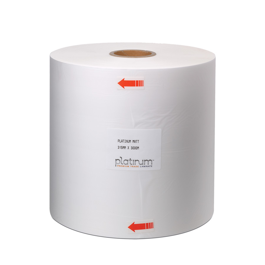 Platinum PolyPRO Gloss Thermal Lam Film 315mm x 3000m